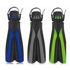 Diving Fins Flippers - Adult Free Size