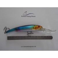 Diving Lure - Large - Blue Gold