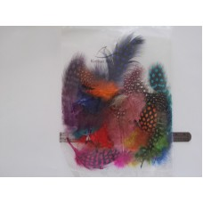 Fishing Feathers - Assorted Dotted